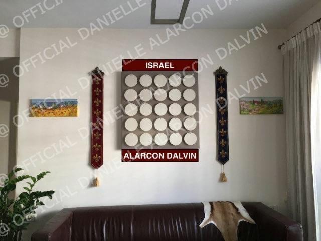 tableaux danielle alarcon dalvin en israel