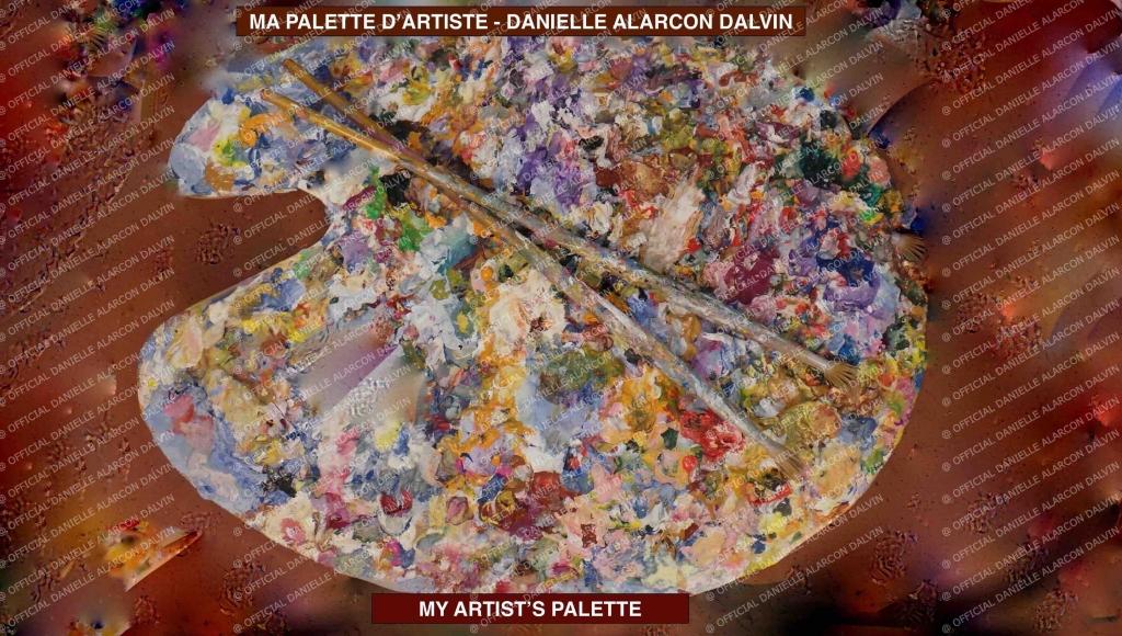 ma palette d'artiste danielle alarcon dalvin